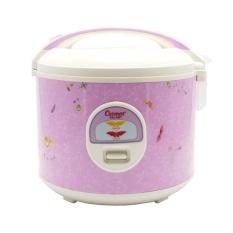 Cosmos Rice Cooker 3 in 1 CRJ3301 / Penanak Nasi 1.8 L - Pink