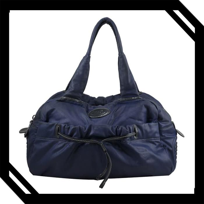 Tods Canvas in Navy Blue I6714