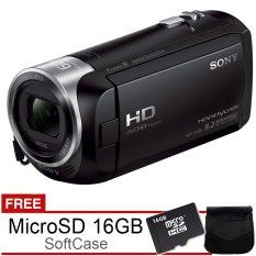 Sony HDR-CX405 Handycam Full HD - Gratis MicroSD 16GB dan Tas
