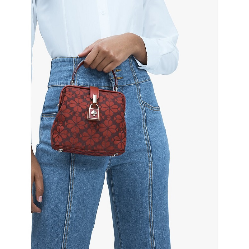 Jual kate spade Remedy Spade Flower Small Top-Handle Bag Red Currant Sultan Store