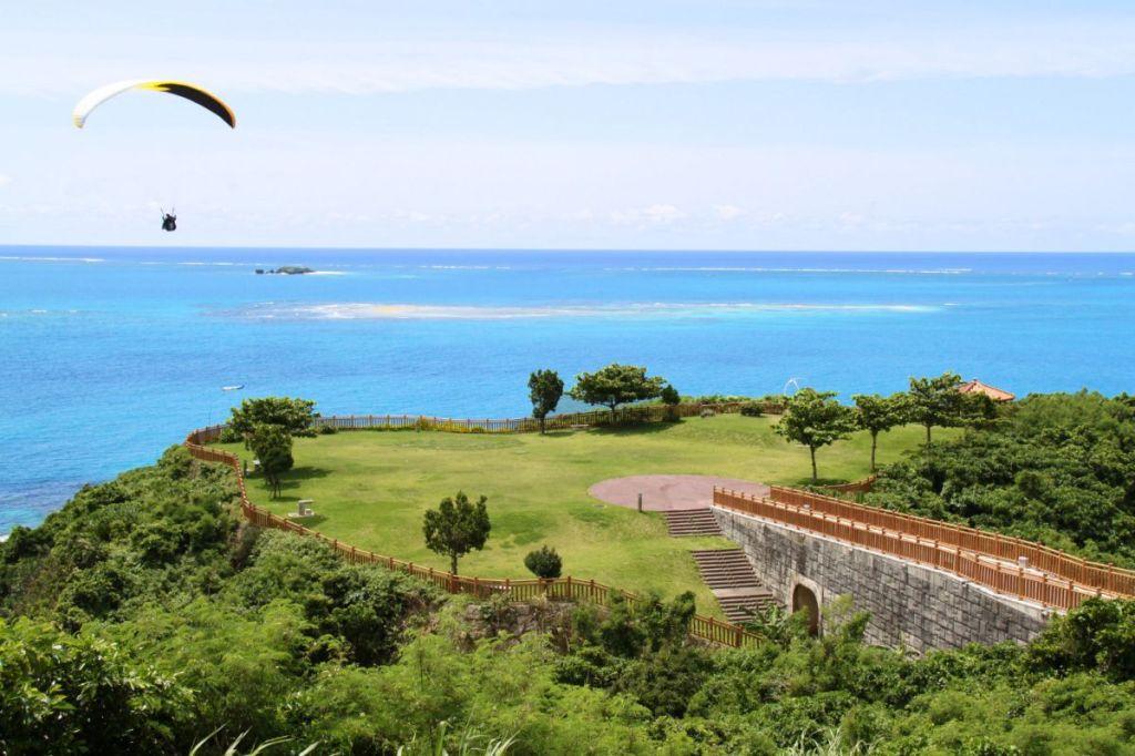 Olahraga air okinawa: paralayang