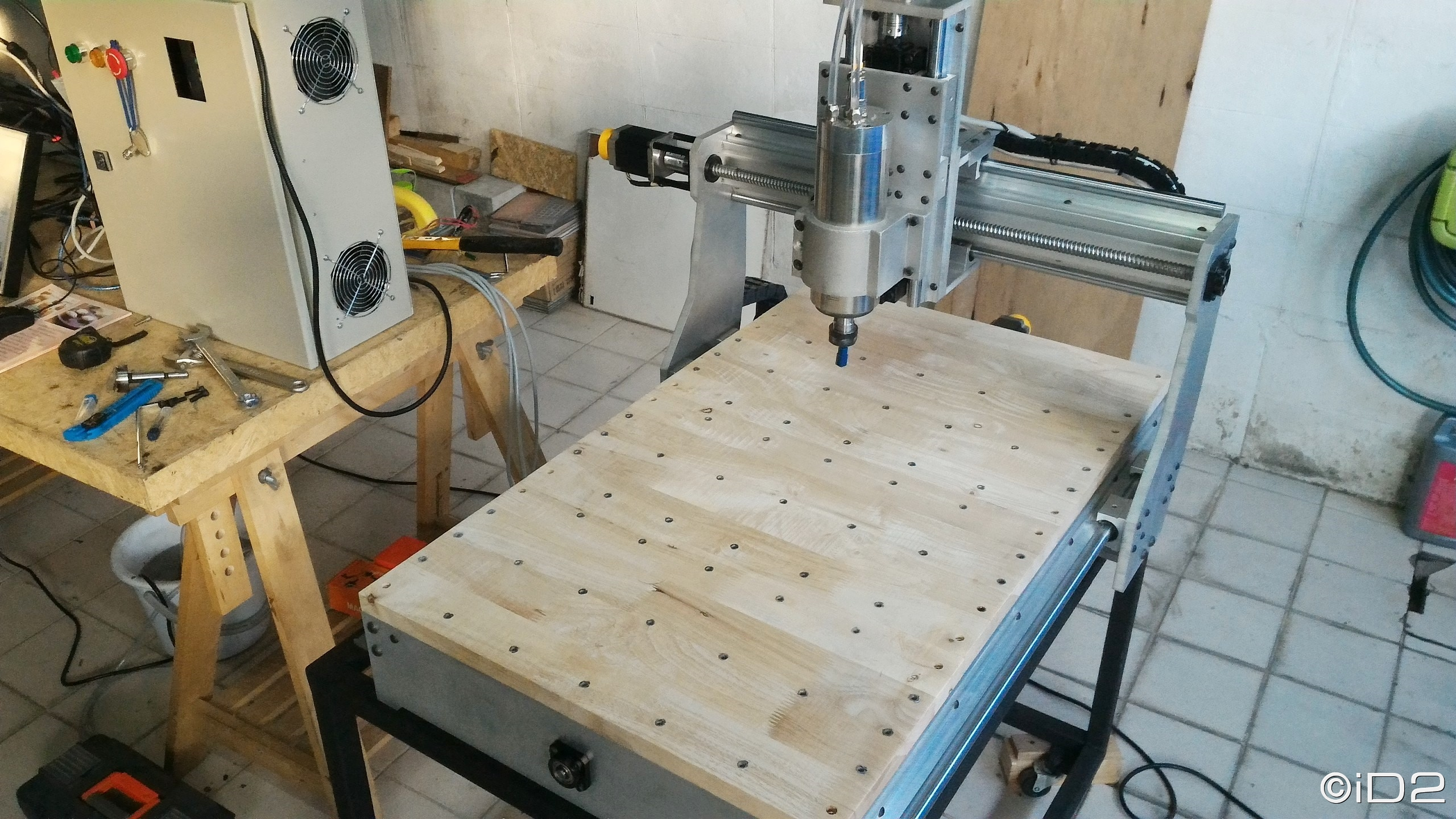 iD2CNC-SS&SP BUILD LOG , Part VI