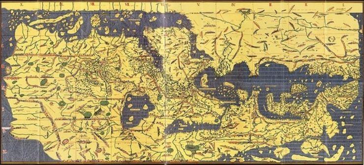 من هو أول من رسم خريطة العالم إضاءات عالمية