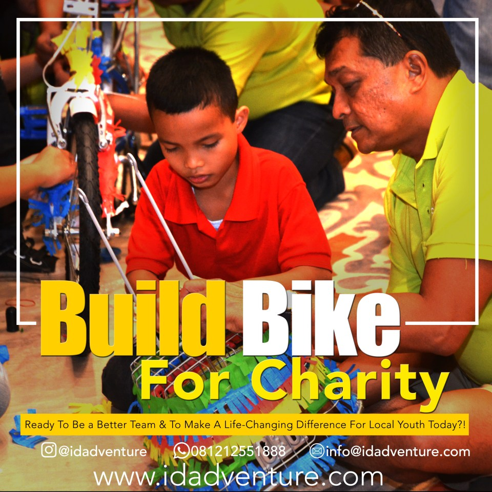 Building Bike for Charity