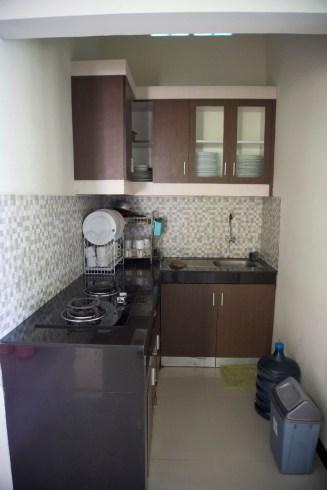 dapur villa