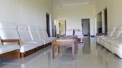 ruang santai villa