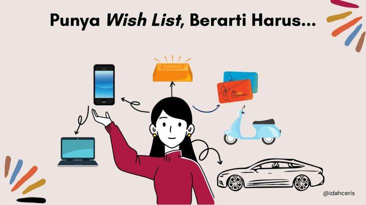 Contoh Wish List Tahun Ini