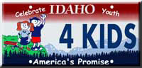 Idaho Youth License Plate