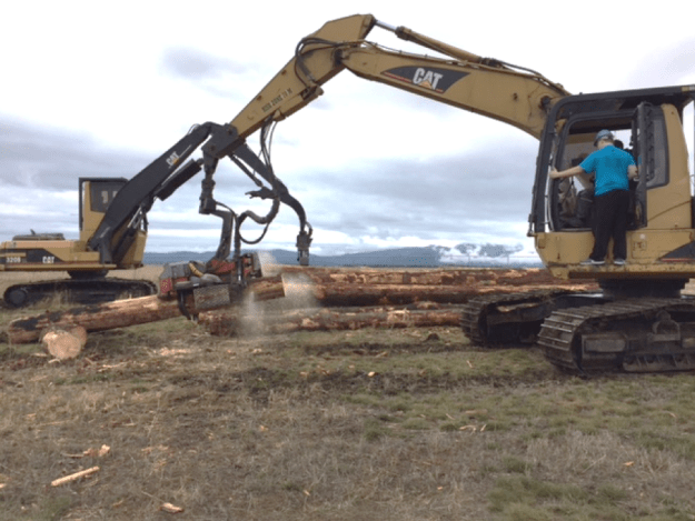 Idaho Forest Group log processor