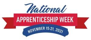 National Apprenticeship Week Nov. 15-21, 2021 logo