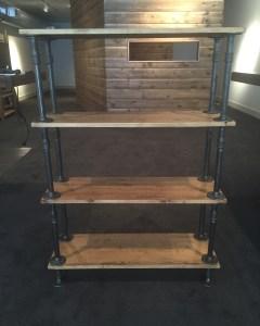pipe shelf units