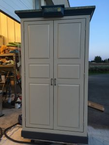 sun armoire - front view