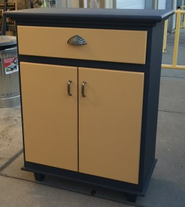 utility cabinet finished
