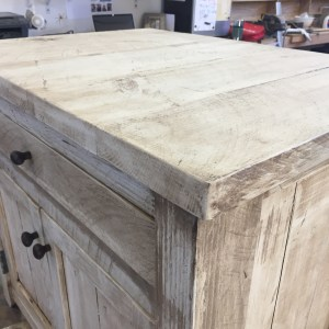 shiplap end table top