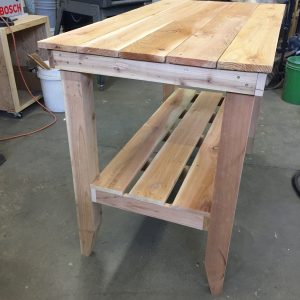 cedar table side