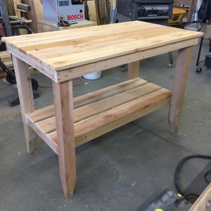 cedar table length