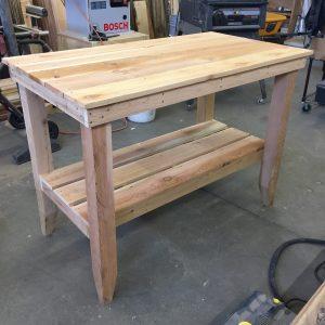 cedar table length