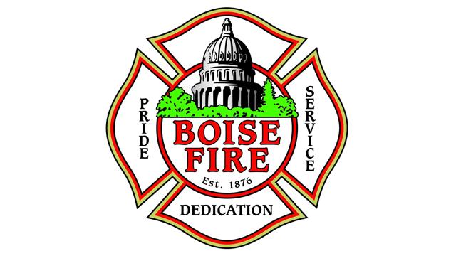 Boise Fire Department Food Drive