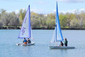 Laser Sailing Race