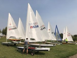 Laser Sailing Crafts ready to launch