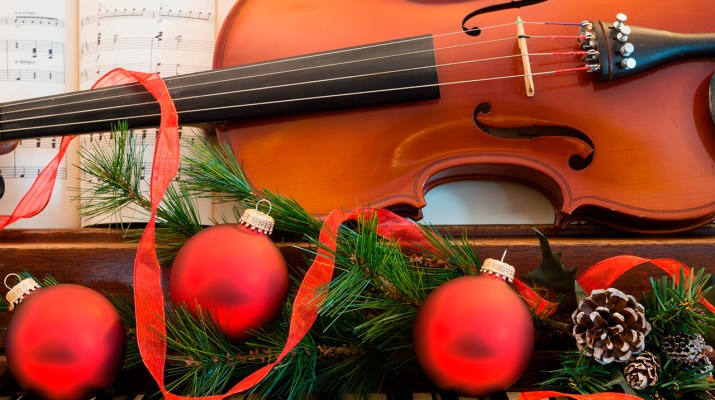 Holiday symphony music