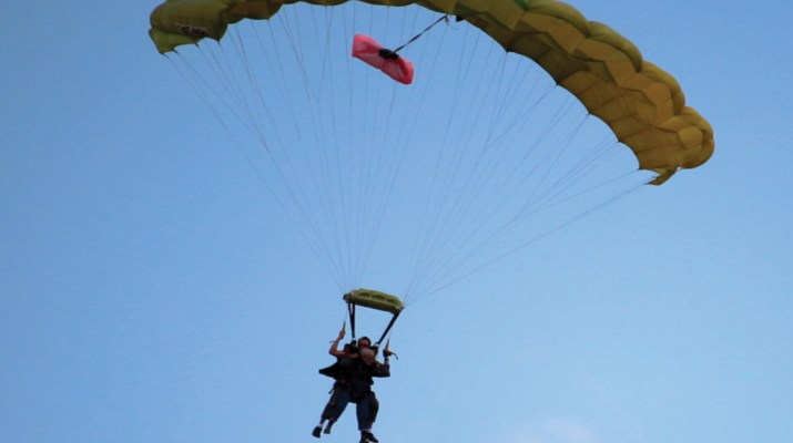 In Hospice Care and Skydiving