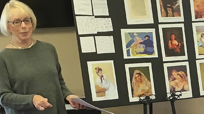 Coeur d'Alene Art Study Club member Jo Ann Nelson