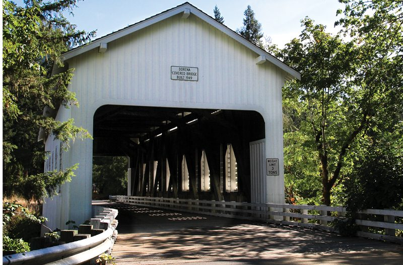 The Bridges of Lane County: They Go Great with Local Wine!