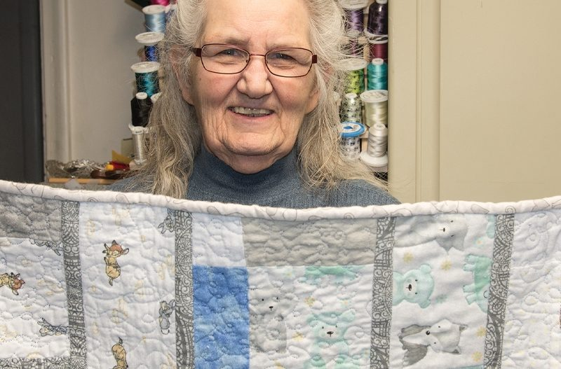 Knit, Sew, Quilt: Boise Woman Pushes Through Pain to Help Others