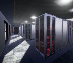 Server Room Renering