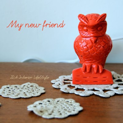 Crochet, lamps and owls