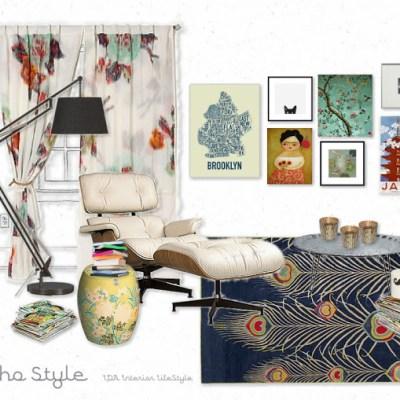 Inspiration board: Boho style