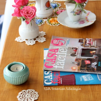 This week on my coffee table: CASA FACILE