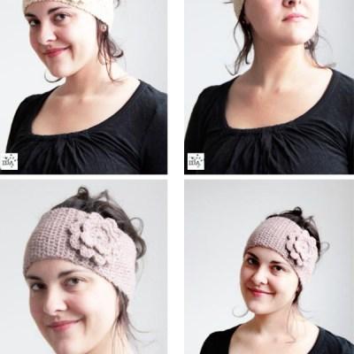 From my Etsy shop: crocheted headbands