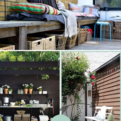 Open a new file {the patio}
