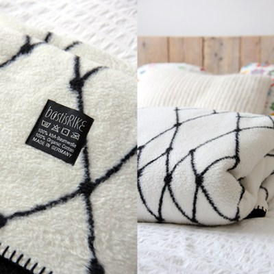 "Napping like a pro with ""The Grid"" blanket by BastisRIKE"