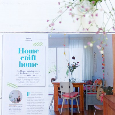 New publications: Casa Facile décor, Home Made, Peggy Mag