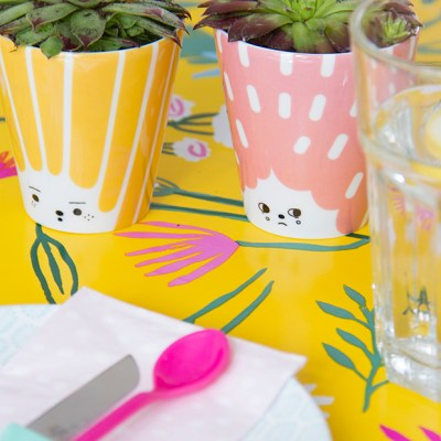 Urban Jungle Bloggers :: Planty Table Setting