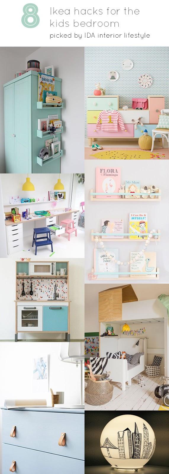 8 Ikea hacks for the kids bedroom