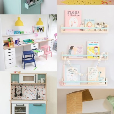 8 Ikea hacks for the kids bedroom