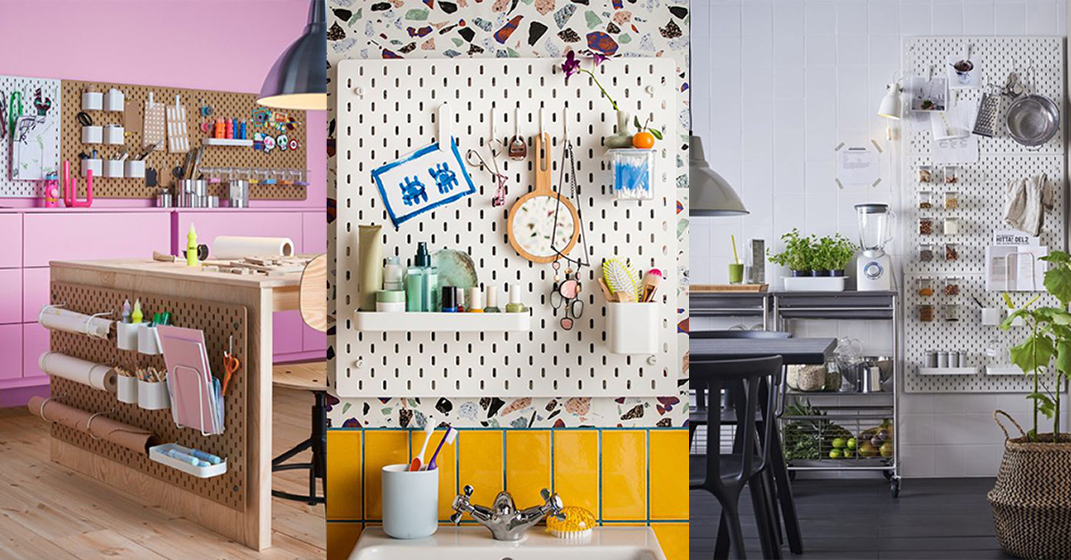 New Ikea must have: the SKÅDIS pegboard