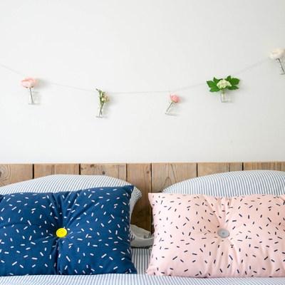 DIY di primavera: ghirlanda di fiori in 10 minuti