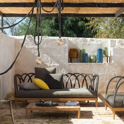 Ispirazioni per il patio #1: teak