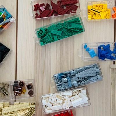 Lego: come organizzarli