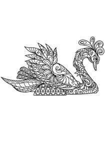Birds - Free printable Coloring pages for kids9