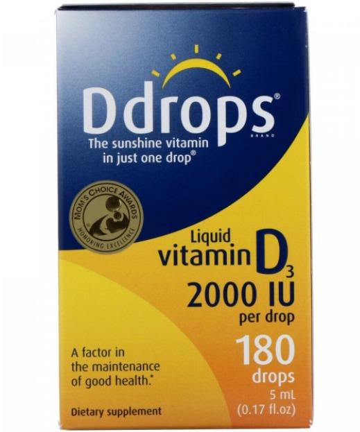 Жидкий витамин D3 Ddrops