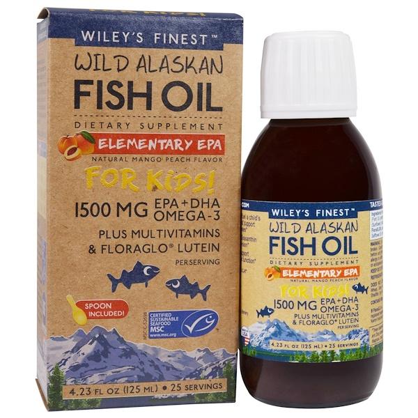 Аляскинский рыбий жир, ЭПК Wiley's Finest