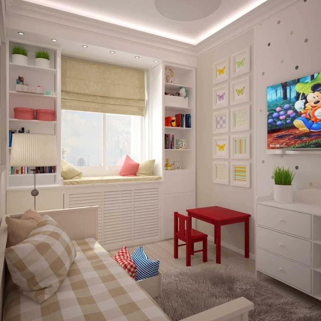 Дизайн детской комнаты 12 кв м