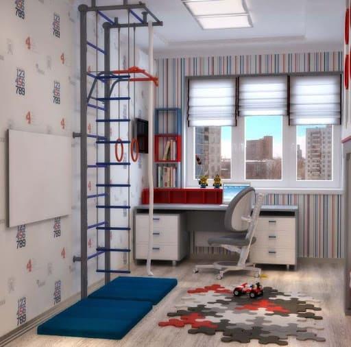Детская комната дизайн интерьера для школьников