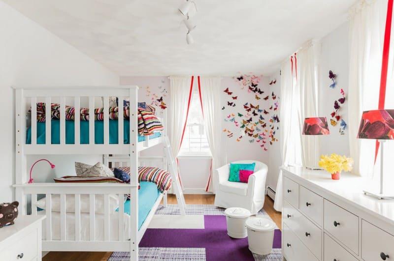 Детская комната в стиле Икеа